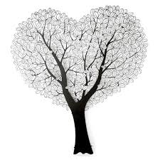 Wall Decor Metal Tree Heart Shape 1 Metal Tree Wall Decor Hwangdong Industry Co Ltd