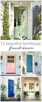 pleasurable front door exterior home deco contains strong wooden best 25 colored front doors ideas on teal door best