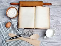 vieux ustensiles de cuisine concept de cuisson ingrédients et ustensiles de cuisine avec le