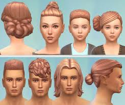 custom hair for sims 4 hair colour eijza s sims