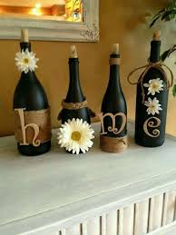 Decorative Home 25 Best Decorating Bottles Ideas On Pinterest Painting Wine