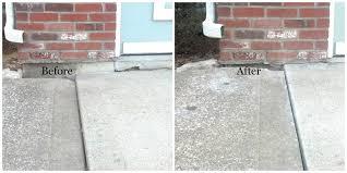 Repair Concrete Patio Cracks Foam Jacking Concrete Lifting Foam Concrete Raising Systems