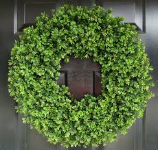 artificial boxwood wreath year wreath artificial boxwood door wreath front door