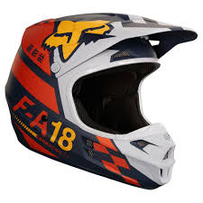 ufo motocross helmet 2018 fox racing v1 sayak helmet orange sixstar racing