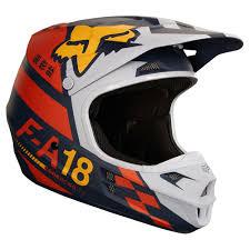 ufo motocross helmet 2018 fox racing v1 sayak helmet orange sixstar racing