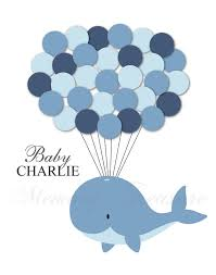 whale baby shower baby shower guest book alternative whale baby shower whale