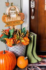 Outdoor Thanksgiving Decorations by 412 Best Fall Decor U0026 Crafts Images On Pinterest Decor Crafts