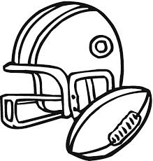 Football Coloring Page Printable Coloring Pages Football Coloring Page