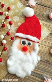 best 25 santa crafts for to make ideas on