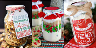 Food Gifts For Christmas 22 Mason Jar Christmas Food Gifts U2013 Recipes For Gifts In A Mason