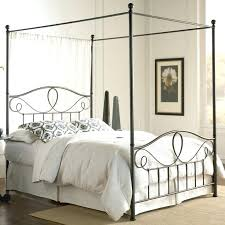 Black Wrought Iron Bed Frame Canopy Wrought Iron Bed Wrought Iron Canopy Bed Frame
