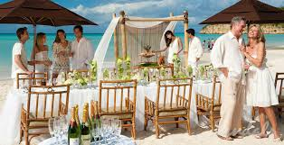 caribbean wedding venues caribbean wedding venues search table settings