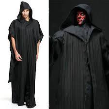 Darth Maul Halloween Costume Star Wars Sith Darth Maul Tunic Hooded Cloak Robe Men Women