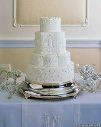 Wedding Cake Gum Traditional Wedding Cakes Martha Stewart Weddings
