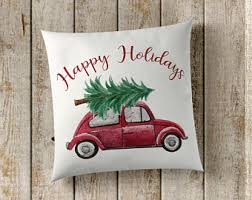 Decorative Christmas Pillows Throws by Christmas Pillows Etsy