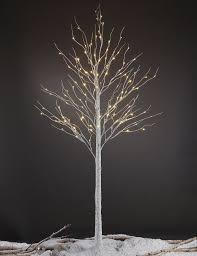 birch tree decor lightshare 8ft 132l led birch tree warm white home