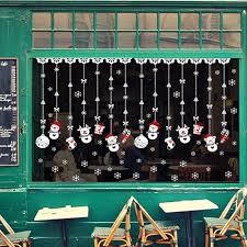 popular window snow buy cheap window snow lots from china window christmas snow ball removable home vinyl window wall stickers decal decor china mainland