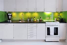 green backsplash kitchen looking green kitchen backsplash with white cabinet 8402