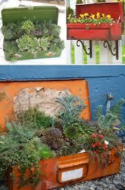 Garden Containers Ideas - another 10 creative garden container ideas