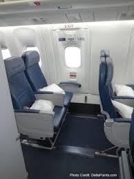 Economy Comfort Class Delta 767 300 Economy Comfort Seats Delta Points Blog Review 7