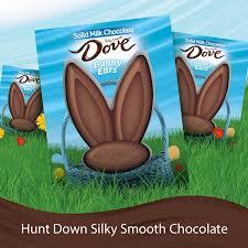 chocolate bunny ears dove easter solid milk chocolate bunny ears 1 5 ounce