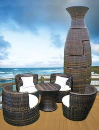 Outdoor Rattan Furniture by Best 25 Patio Sets Ideas On Pinterest Outside Decorations