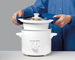 Small 2 by Amazon Com Proctor Silex 33015y 1 1 2 Quart Round Slow Cooker
