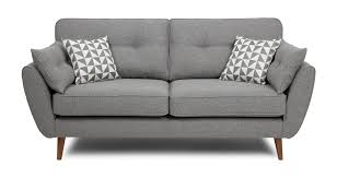 grey leather sofas for sale zinc 3 seater sofa dfs