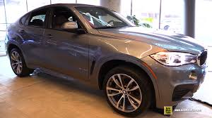si e auto sport 2016 bmw x6 xdrive 35i m sport exterior and interior walkaround