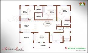 2 bedroom ranch floor plans marvelous simple 2 bedroom house plans kerala style memsaheb