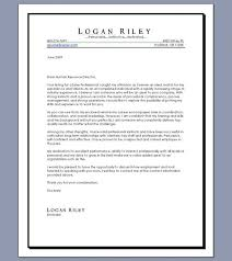 good resume cover letter examples cover letter example for resume