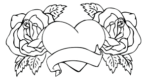 coloring pages with roses coloring pages rose for free roses printable flowers rose coloring
