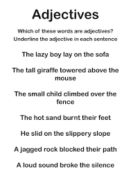 adjective worksheets grade 1 adjectives worksheets by discophile teaching resources tes