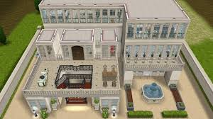 Chateau House Plans The Sims Freeplay House Design French Chateau Youtube