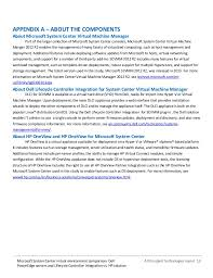 microsoft system center virtual environment comparison dell poweredg u2026