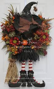 Fall Halloween Wreaths by 100 Best Images About Crafts On Pinterest Lemon Drops Lakes