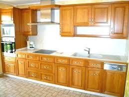 placard cuisine meuble cuisine bois naturel meubles cuisine bois brut montage