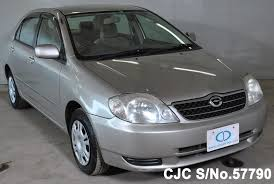 2002 toyota cars 2002 toyota corolla beige for sale stock no 57790 japanese