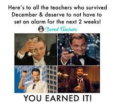 December Meme - teacher humor bored teachers