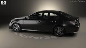 lexus gs hybrid sedan 360 view of lexus gs hybrid 2015 3d model hum3d store