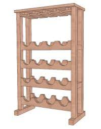 Free Woodworking Plans Diy Projects by Build Wine Rack Plans This Do It Yourself Projects Category