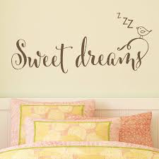 children s bedroom wall sticker sweet dreams by making statements children s bedroom wall sticker sweet dreams