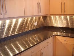 kitchen backsplash modern metal backsplash with under wall