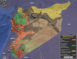 Syria Conflict Map by Map The Military Situation In Syria May 26 2016 Archicivilians