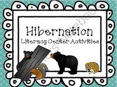 hibernation and migration literacy centers tpt science lessons