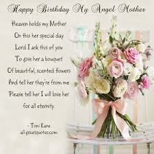 16 best moms birthday in heaven quotes images on pinterest