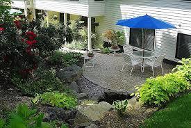 Japanese Patio Design Landscape Design Walkout Basement Landscaping Ideas Awesome