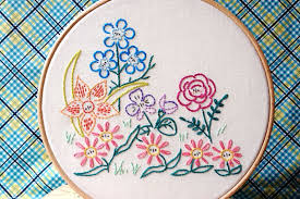 10 gardening inspired embroidery patterns