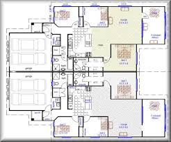 Duplex Designs 3 X 3 Duplex With 2 Car Garage Townhouse Builders