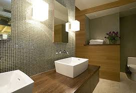 Designer Bathroom Wallpaper by Best 60 Modern Bathroom Design Houzz Decorating Design Of